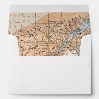 MAP: EASTERN CANADA ENVELOPE