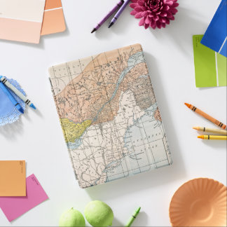 MAP: EASTERN CANADA iPad SMART COVER
