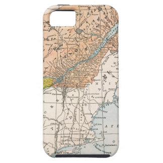 MAP: EASTERN CANADA iPhone SE/5/5s CASE