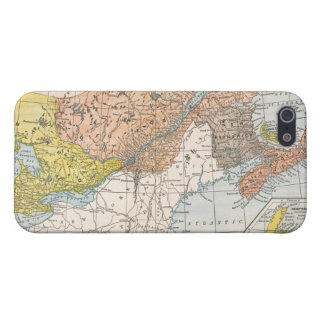 MAP: EASTERN CANADA iPhone SE/5/5s COVER