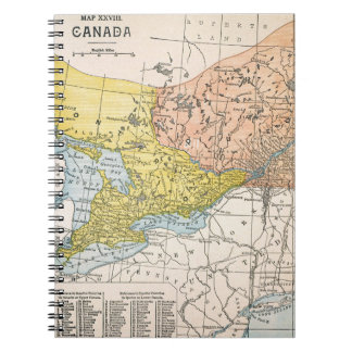 MAP: EASTERN CANADA NOTEBOOK