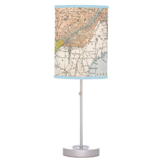 MAP: EASTERN CANADA TABLE LAMP