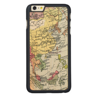 MAP: EUROPE IN ASIA CARVED® MAPLE iPhone 6 PLUS SLIM CASE