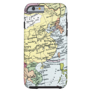 MAP: EUROPE IN ASIA TOUGH iPhone 6 CASE