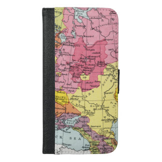 MAP: EXPANSION OF RUSSIA iPhone 6/6S PLUS WALLET CASE