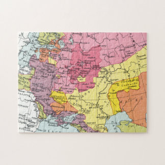 MAP: EXPANSION OF RUSSIA JIGSAW PUZZLE