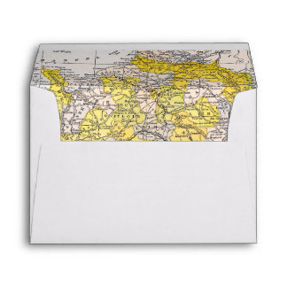 MAP: FRANCE ENVELOPE