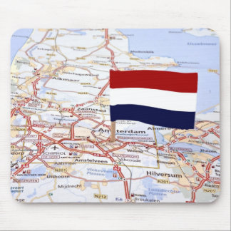 Map from the Netherlands Mouse Pad