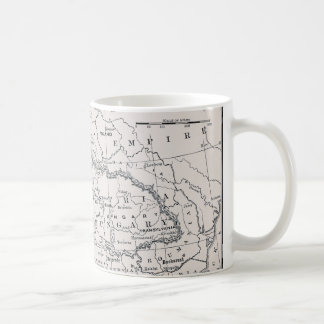 MAP: GERMANY AND AUSTRIA COFFEE MUG