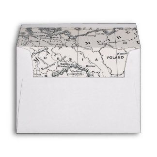 MAP: GERMANY AND AUSTRIA ENVELOPE