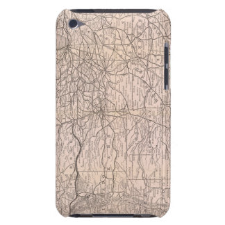 Map Great Western Railway of Canada iPod Touch Case-Mate Case