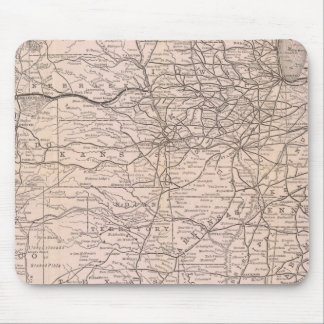 Map Great Western Railway of Canada Mouse Pad