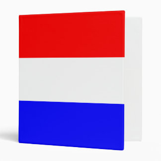 Map in rood~wit~blauw 3 ring binders