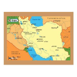 Map-Iran-1990s Postal