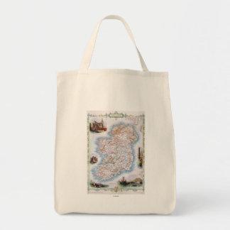 Map: Ireland, 1851 Tote Bag