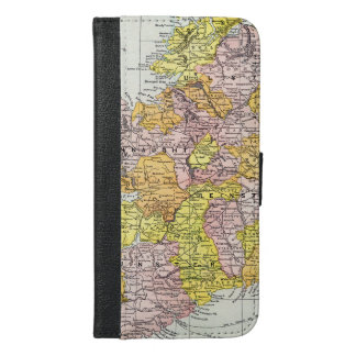 MAP: IRELAND, c1890 iPhone 6/6s Plus Wallet Case