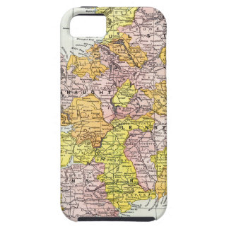 MAP: IRELAND, c1890 iPhone SE/5/5s Case