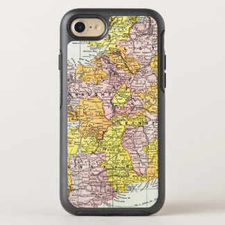 MAP: IRELAND, c1890 OtterBox Symmetry iPhone 8/7 Case
