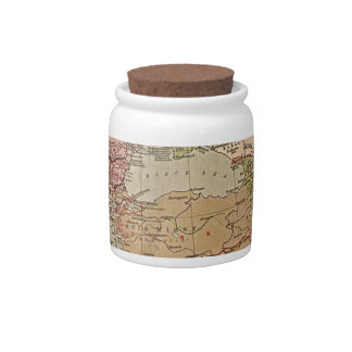 Map it out candy jars
