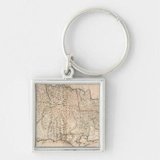 MAP: JAMAICA, 1755 2 KEYCHAIN