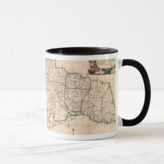 MAP: JAMAICA, 1755 2 MUG