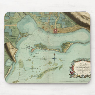 MAP: JAMAICA, 1756 MOUSE PAD