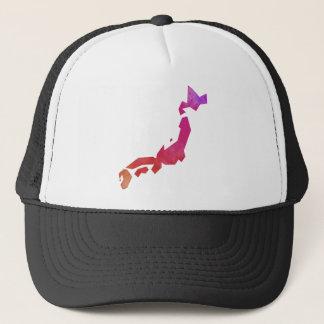 Map Japan Trucker Hat