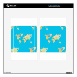 map kindle fire decal