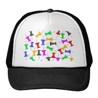 Map Knob Pins Trucker Hat