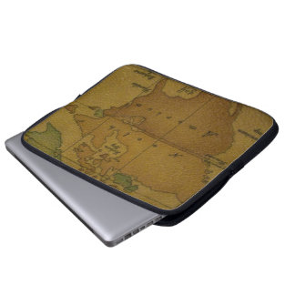 Map Laptop Case