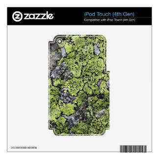 Map Lichen Skin For iPod Touch 4G