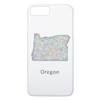 map_line_US_01_Oregon.ai Funda iPhone 7 Plus