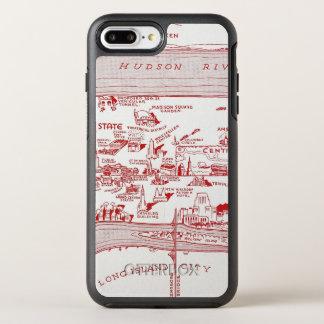 MAP: MANHATTAN, c1935 OtterBox Symmetry iPhone 7 Plus Case