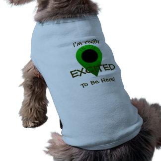 Map Marker Dog Shirt