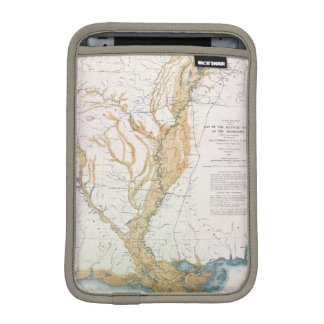 MAP: MISSISSIPPI RIVER, 1861 iPad MINI SLEEVE
