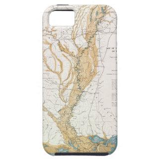 MAP: MISSISSIPPI RIVER, 1861 iPhone SE/5/5s CASE