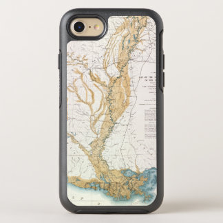 MAP: MISSISSIPPI RIVER, 1861 OtterBox SYMMETRY iPhone 7 CASE