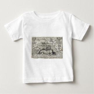 Map Monster/Sea Serpent Baby T-Shirt