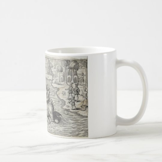 Map Monster/Sea Serpent Coffee Mug