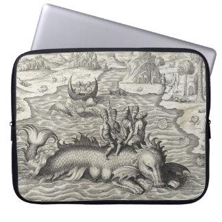 Map Monster/Sea Serpent Laptop Sleeve