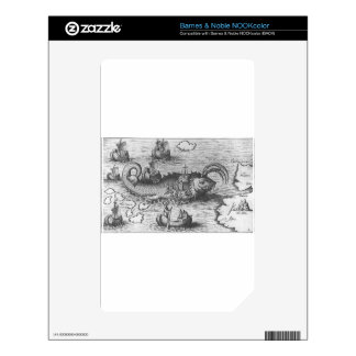 Map Monster/Sea Serpent Decals For The NOOK Color