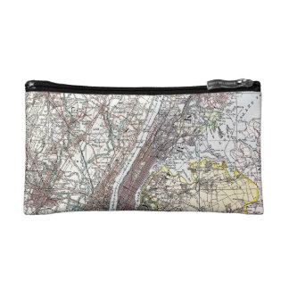 Map: New York Area, 1906 Makeup Bag