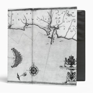 Map No.2 Showing the route of the Armada fleet 3 Ring Binder