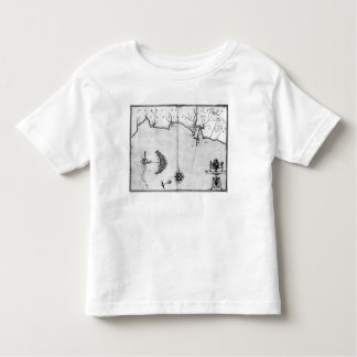 Map No.2 Showing the route of the Armada fleet Toddler T-shirt