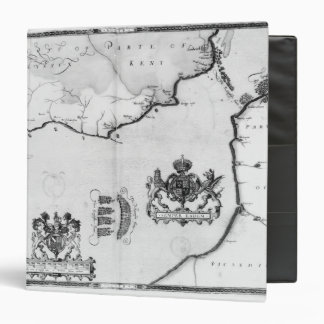 Map No.8 showing the route of the Armada fleet Binder