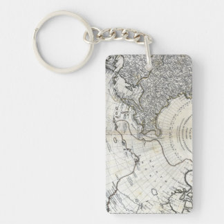 MAP: NORTH PACIFIC KEYCHAIN