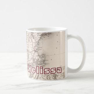 Map: Northeast USA Classic White Coffee Mug