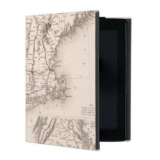 Map: Northeast USA iPad Cover