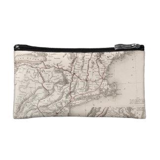 Map: Northeast USA Makeup Bag