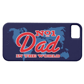 Map Number 1 Dad iPhone 5 Case